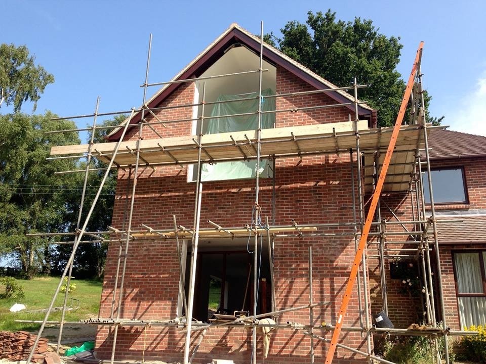 New Scaffolding Installation